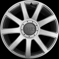 "18"" Audi 9 Spoke wheels 4E0601025AB1H7"