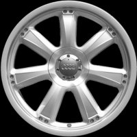 "17"" Audi 7 Spoke wheels 8E0071492666"