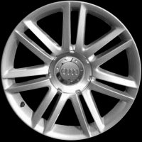 "18"" Audi 7 Twin Spoke wheels 8E0601025AL8Z8"