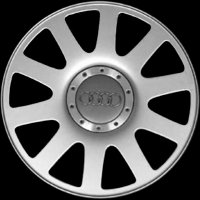 "16"" Audi 10 Spoke wheels 4A0601025PZ17"