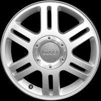 "16"" Audi 6 Double Spoke wheels 4B0601025GZ17"