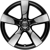 "19"" Audi 5 Arm Hollow Spoke wheels 8K0071499BAX1"