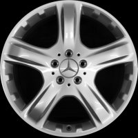 "19"" Mercedes 5 Spoke wheels B6647420465"