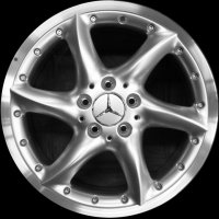 "17"" Mercedes Elarneb wheels B66470256 B66470257"