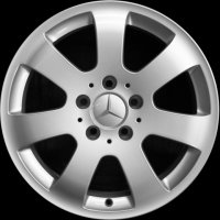 "16"" Mercedes 7 Spoke wheels B66474355"