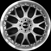 "17"" MINI R90 Cross Spoke 2pc wheels 36116777969"