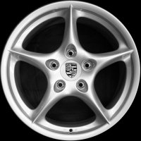 "18"" Porsche Carrera wheels 99636213603 99636214003"