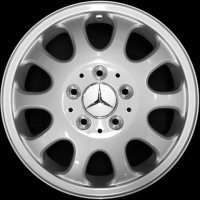 "15"" Mercedes Gienah wheels B66474200"