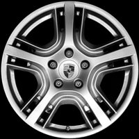 "19"" Porsche Panamera Design wheels 97036215801 97036216001"