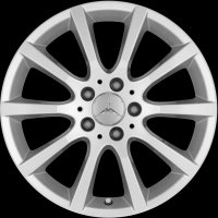 "17"" Mercedes 10 Spoke wheels A20440180029765"