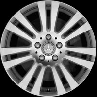 "16"" Mercedes 7 Twin Spoke wheels A20440171029765"