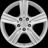 "17"" Mercedes 5 Spoke wheels A20440160027X07 A20440161027X07"