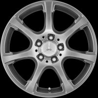 "17"" Mercedes 7 Spoke wheels A20440169027X29 A20440170027X29"