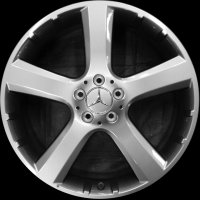"20"" Mercedes 5 Spoke wheels B66470166"