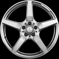 "19"" AMG 5 Spoke wheels B66031486 B66031487"