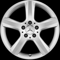 "17"" Mercedes 5 Spoke wheels A17240136029765 A17240137029765"