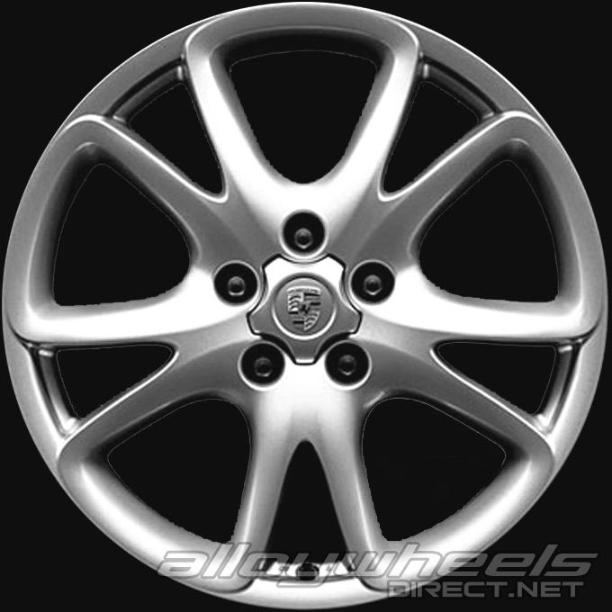 20 Quot Porsche Sport Design Wheels In Silver Alloy Wheels