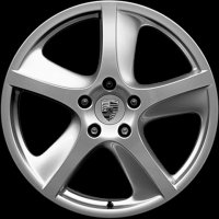 "18"" Porsche Sport Techno wheels 955362140909A1"