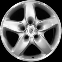 "18"" Porsche Cayenne Turbo wheels 955362136309A1"