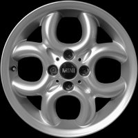 "16"" MINI R120 4 Hole Circular wheels 36116791942"