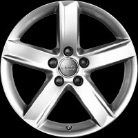 "17"" Audi 5 Spoke wheels 4F0071497L8Z8"