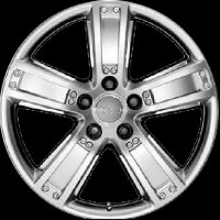 "19"" Audi 5 Spoke wheels 4F0071499A8Z8"