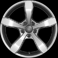 "16"" Audi 5 Spoke wheels 8X00714968Z8"