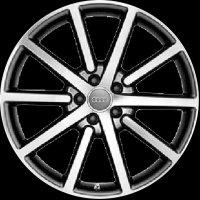 "20"" Audi 10 Spoke wheels 8R0071490C4EE"