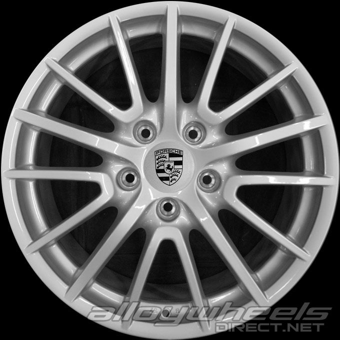 19 Quot Porsche Sport Design Wheels In Silver Alloy Wheels