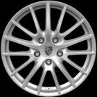 "new 19"" Porsche Sport Design alloy wheels"
