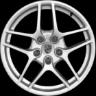 "new 19"" Porsche Carrera S II alloy wheels"