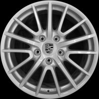 "19"" Porsche Sport Design wheels 99736215604 99736215807"