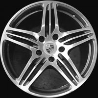 "19"" Porsche Turbo wheels 99736215602 99736216202"