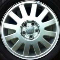 "15"" Audi 12 Spoke wheels 8L0601025Z17"