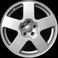 "16"" Audi 5 Spoke wheels 8N0601025CZ17"