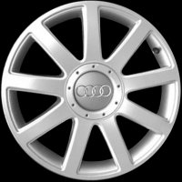 "17"" Audi 9 Spoke wheels 8L0601025AC1H7"