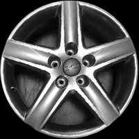 "17"" Audi 5 Spoke wheels 8P0601025EM"