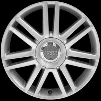 "18"" Audi 7 Twin Spoke wheels 8P0601025AJ8Z8"