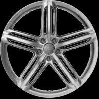 "18"" Audi 5 Segment Spoke wheels 8P0601025DQ"