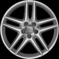 "17"" Audi 5 Spoke wheels 8P0071497666"