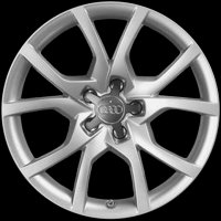 "18"" Audi 10 V Spoke wheels 8T0601025CS"
