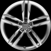 "19"" Audi 5 Parallel Spoke wheels 8T0601025CN"