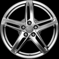 "18"" Audi 5 Arm Rotor wheels 8T0071498AZ49"