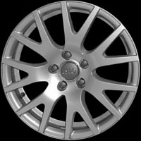 "17"" Audi 7 Y Spoke wheels 8J0601025G8Z8"