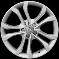 "18"" Audi 5 Y Spoke wheels 8J0601025CJ"