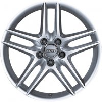 "18"" Audi 10 Spoke wheels 8J0071025A1H7"