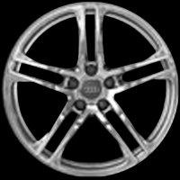 "19"" Audi 5 Double Spoke wheels 420601025ACZ33/Z17 420601025AJZ33/Z17"