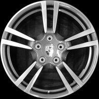 "19"" Porsche Turbo II wheels 99736215702 99736216303"