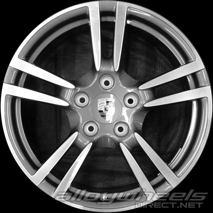 19 Quot Porsche Turbo Ii Wheels In Silver Alloy Wheels