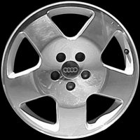 "17"" Audi 5 Spoke wheels 4B3601025PZ33"